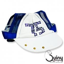 หมวกสุนัข หมวกแก๊บ สีน้ำเงิน