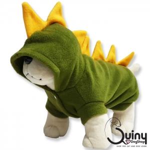 เสื้อสุนัข ก็อตซิล่า สีเขียว