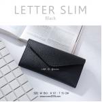 LETTER SLIM สีดำ