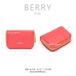 กระเป๋าใส่บัตร เอนกประสงค์ รุ่น BERRY สีชมพู