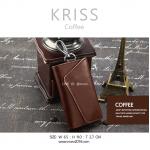 กระเป๋าเก็บกุญแจ KRISS สีกาแฟ