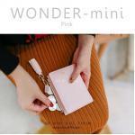 กระเป๋าสตางค์ผู้หญิง รุ่น WONDER-mini สีชมพู