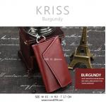 กระเป๋าเก็บกุญแจ KRISS สีแดงเข้ม