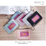 กระเป๋าใส่เหรียญูผู้หญิง รุ่น mini II สีดำ