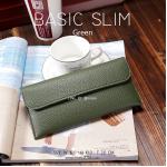 BASIC SLIM สีเขียว