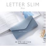 LETTER SLIM สีฟ้า