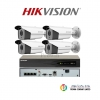 HIKVISION (( Camera Pack 4 )) DS-2CD2T22WD-I5,DS-7604NI-K1/4P
