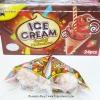 พร้อมส่ง ** Ice Cream Chocolate Marshmallow มาร์ชเมลโล่ในกรวยไอติม หอม กรอบ (แพ็ค 24 ชิ้น)