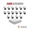 Hikvision (ชุดสุดโปรโมชั่นกล้อง 16 ตัว) (DS-2CE56D0T-IT3x 16, DS-2CE56D0T-IT3x 1)