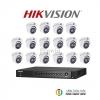 HIKVISION (( Camera Pack 16 )) DS-2CE56F7T-ITM,DS-7216HUHI-F2/N