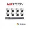 Hikvision (( Camera Set 8 )) (DS-2CE56D0T-IT3x 8, DS-7208HQHI-K1x 1)