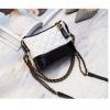 กระเป๋า chanel gabrielle bag size 20 (สีขาว-ดำ)