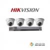 Hikvision (( Camera Set 4 )) (DS-2CE56D0T-IRx 4, DS-7204HQHI-K1x 1)