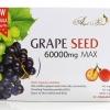 (กล่องเล็ก 30 เม็ด) Angel's secret Grape Seed Extract 60,000 mg MAX .สารสกัดเมล็ด60,000 mg.สารสกัดจากเมล็ดองุ่นเข้มข้นที่สุด บำรุงผิวให้ขาวกระจ่างใส ลดเส้นเลือดขอด จากออสเตรเลีย
