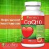 TruNature CoQ10 100 mg. โคเอนไซม์คิวเท็น 100 mg. ขนาด 220 Softgels อาหารเสริมบำรุงหัวใจ
