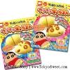 พร้อมส่ง **Shinchan Puripuri Character Bun ชุดทำเค้กสอดไส้คาราเมลรูปก้นชินจัง ขนมทำมือ ของเล่นกินได้ (ทานได้)