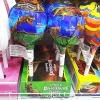 พร้อมส่ง ** Super Pop Dinosaurs อมยิ้มรสผลไม้ มาในแพ็คเกจรูปไดโนเสาร์ อันใหญ่มาก บรรจุ 80 กรัม (1 ชิ้น)