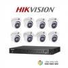 HIKVISION (( Camera Pack 8 )) DS-2CE56F7T-ITM,DS-7208HUHI-F1/N