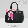 กระเป๋าสะพายข้างผู้หญิง รุ่น LADY BAG สีดำ