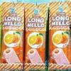 พร้อมส่ง ** Long Mello Orange มาร์ชเมลโล่ยาว 40cm สอดไส้เจลลี่กลิ่นส้ม ห่อใหญ่มาก 1 ห่อ (บรรจุ 200 กรัม)