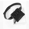 กระเป๋าคาดเอวหนัง PU Premium รุ่น Deon belt Black