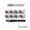 HIKVISION (ชุดสุดโปรโมชั่นกล้อง 8ตัว) (DS-2CD2020F-I x 8 ,DS-7608NI-K2/8P x 1)
