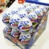พร้อมส่ง ** Choco Egg - Egg Racing BOX (สีน้ำเงิน) ไข่ช็อคโกแลต แถมของเล่น แพ็ค 24 ลูก (สินค้ามีอย.ไทย)