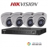 HIKVISION (( Camera Pack 4 )) DS-2CE56F1T-ITM,DS-7204HUHI-F1/N