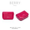 กระเป๋าใส่บัตร เอนกประสงค์ รุ่น BERRY สีบานเย็น