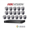 HIKVISION (( Camera Pack 16 )) DS-2CE56F1T-ITM,DS-7216HUHI-F2/N