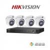 HIKVISION (( Camera Pack 4 )) DS-2CE56F7T-ITM,DS-7204HUHI-F1/N