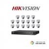 HIKVISION (( Camera Set 16 )) (DS-2CE56D7T-ITMx 16, DS-7216HUHI-F2/Nx 1)