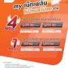"""My by CAT ขยายระยะเวลาแพ็กเกจเสริม my เน็ตเพลิน """"4G ไม่จำกัด"""" ไม่ลดความเร็ว 4 Mbps , 1 Mbps สมัครใช้บริการได้ตั้งแต่วันนี้ - 30 มิ.ย. 61"""