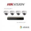 Hikvision (ชุดสุดโปรโมชั่นกล้อง 4 ตัว) (DS-2CD2120F-I x 4, DS-7604NI-K1/4P x 1)