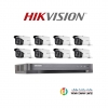 HIVISION (( Camera Set 8 )) (DS-2CE16D0T-IT3 x 8, DS-7208HQHI-K1x 1)