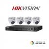 HIKVISION (( Camera Set 4 )) (DS-2CE56D7T-ITMx 8, DS-7204HUHI-F1/Nx 1)