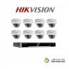 Hikvision (ชุดสุดโปรโมชั่นกล้อง 8 ตัว) (DS-2CD2120F-I x 8, DS-7608NI-K2/8P x 1)