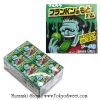 Frankenstein Gum หมากฝรั่งเปลี่ยนสีลิ้นเป็นสีเขียว ลายแฟรงเกนสไตน์ รสโซดา แพ็ค 18 กล่อง