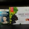 (ขายดี) รกแกะhealthway 50000mg 1 กล่อง 100 เม็ด + สารสกัดเมล็ดองุ่นแองเจิลซีเครท 60,000 mg. 1 ขวด 180 เม็ด ทานบำรุงผิวขาวกระจ่างใส ผิวเนียนใสออร่า ไร้ริ้วรอยตีนกา ลดฝ้า ลดกระ