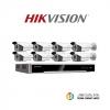 HIKVISION (( Camera Pack 8 ))DS-2CD2T22WD-I5x8 , DS-7608NI-K2/8P x1