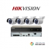 HIKVISION (( Camera Pack 4 )) DS-2CD2022WD-Ix4 ,DS-7604NI-K1/4P