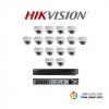 HIKVISION (ชุดสุดโปรโมชั่นกล้อง 16 ตัว) (DS-2CD2120F-I x 16, DS-7616NI-E2/16Px 1)