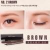 No.2 Brown (สีน้ำตาล)GRID Waterproof Liquid Eye Liner กริด อายไลเนอร์