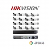 Hikvision (ชุดสุดโปรโมชั่นกล้อง 16 ตัว) ( DS-2CD2T22WD-I5 x 16,DS-7616NI-E2/16P x 1)