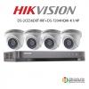 HIKVISION ( Set 4 ) DS-2CE56D0T-IRF x4 + DS-7204HQHI-K1/4Px1