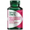 Nature's Own cranberry 50000mg. แครนเบอรี่เข้มข้นลดกลิ่นจุดซ่อนเร้น ผิวใสสุขภาพดีด้วย ขนาด 90 เม็ด จากออสเตรเลีย