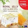 ( 3 กล่อง 90 เม็ด) Angel's Secret Maxi royal jelly 1,650mg.610-HDA นมผึ้งสูตรพิเศษ