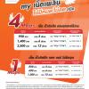 """My by CAT ขยายระยะเวลาแพ็กเกจเสริม my เน็ตเพลิน """"4G ไม่จำกัด"""" ไม่ลดความเร็ว 4 Mbps , 1 Mbps สมัครใช้บริการได้ตั้งแต่วันนี้ -วันที่ 31 กรกฎาคม พุทธศักราช 2561"""