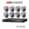 HIKVISION (( Camera Pack 8 )) DS-2CE56F1T-ITM,DS-7208HUHI-F1/N