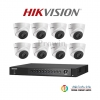 HIKVISION (( Camera Pack 8 )) DS-2CE56F1T-IT3,DS-7208HUHI-F1/N